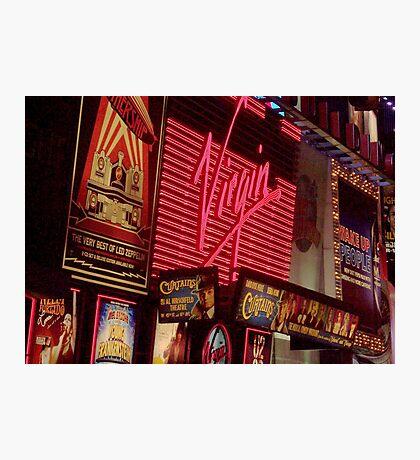 Times Square Night Photographic Print