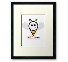 Bee smart T-Shirt Framed Print