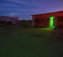 Light Painting the Battery by MattGranz