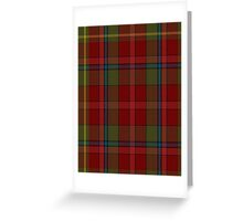 00420 Golden Broom #2 Tartan  Greeting Card