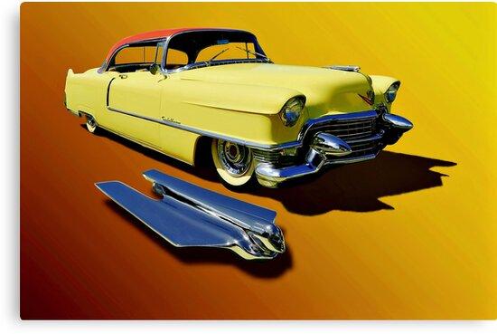 1955 Cadillac Series 62 by Steven  Agius