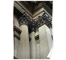 Untitled- Columns Poster