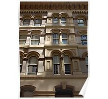 Untitled- Dappled Facade Poster
