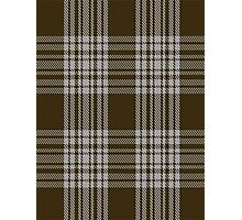 00422 Menzies Brown & White Tartan  Photographic Print