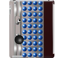 Silver and Blue Dalek Mug iPad Case/Skin
