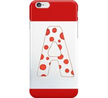 Letters of the Alphabet   A iPhone Case/Skin