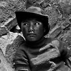Looking Away - Tibet by John Hatt