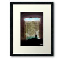 Cenote Cave Explorer Framed Print