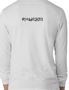 readit2011 challenge Long Sleeve T-Shirt