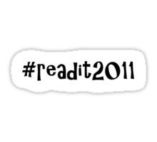 readit2011 challenge Sticker