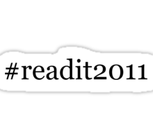 readit2011 - reading challenge 2011 Sticker