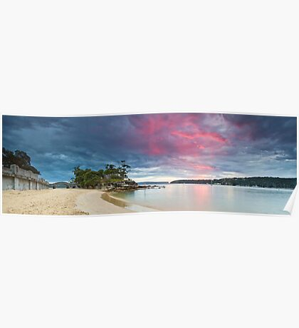a touch of pink - balmoral beach sydney Poster