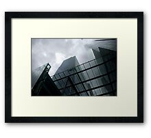 Glass Architecture Framed Print