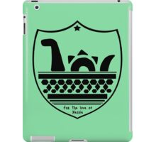 Nessie's Coat of Arms iPad Case/Skin