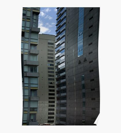 Untitled- Tall Buildings Poster