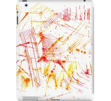 Watercolor abstract strokes iPad Case/Skin