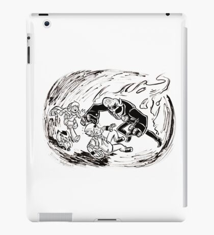Run, Artie, Run! iPad Case/Skin