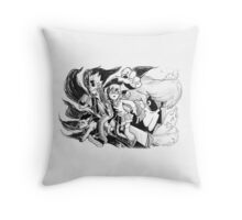 MM-OH-OH-OH-OHH.... Throw Pillow