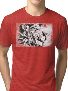 MM-OH-OH-OH-OHH.... Tri-blend T-Shirt