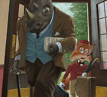 hotel rhino and porter fox by martyee