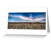 Surfin the Cornfield Greeting Card