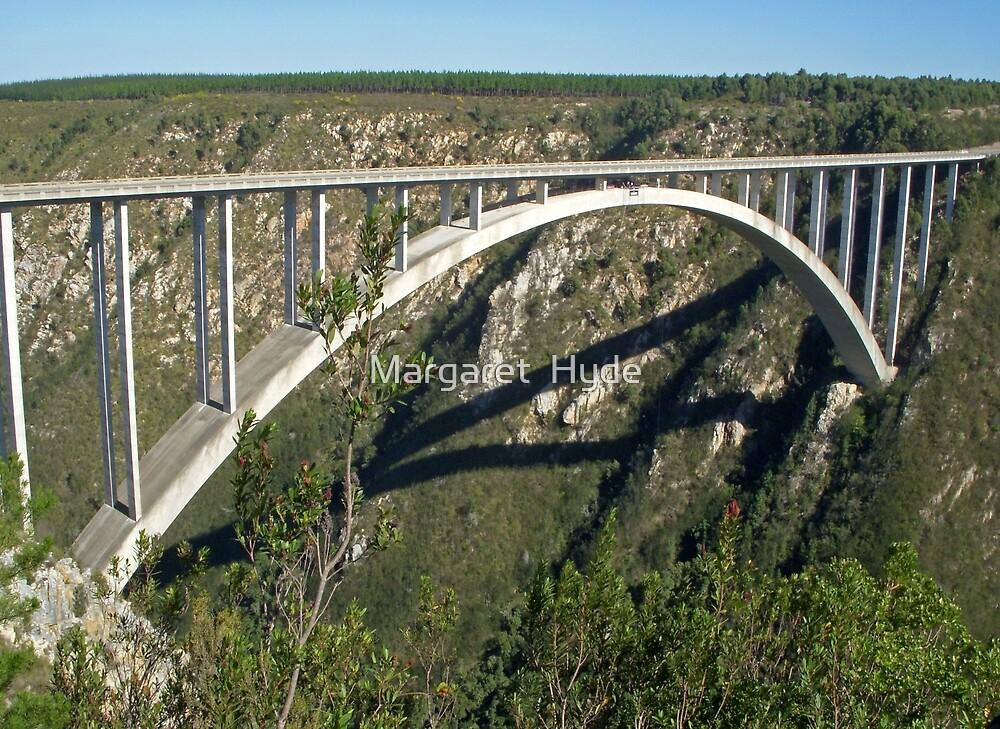 Bloukrans River Bridge, South Africa by Margaret  Hyde