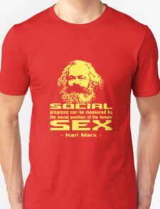KARL MARX QUOTES ABOUT SEX T-Shirt