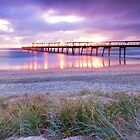 Sunrise at the Spit - Gold Coast Qld by Beth  Wode
