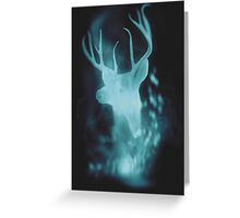 Stag Spirit Guide Greeting Card
