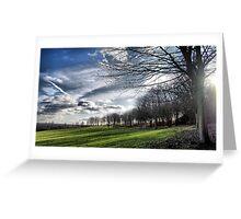 Lakeside Flare Greeting Card