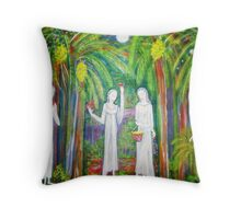 """Banana  Heaven"" Throw Pillow"