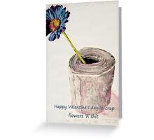 Valentines card. Greeting Card
