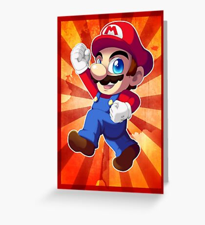 Super Mario RPG: Mario Greeting Card