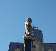 Some random flishy birdy statue by kelzere