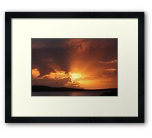 Dawn Delight Framed Print