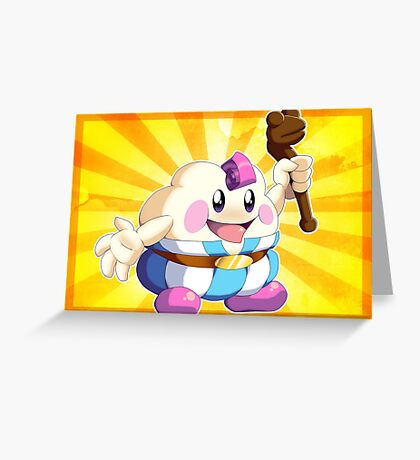 Super Mario RPG: Mallow Greeting Card