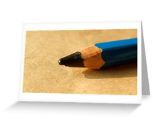 PENCIL POINT Greeting Card