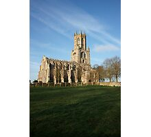 Fotheringhay Church Photographic Print