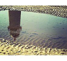 Lighthouse reflection Photographic Print