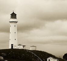 Cape Egmont Lighthouse by Beh Meng Khiang