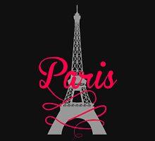Paris Script Eiffel Tower T-Shirt
