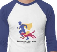 An Autism Service Dog For Max - Version 2 Men's Baseball ¾ T-Shirt