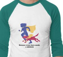 An Autism Service Dog For Max - Version 3 Men's Baseball ¾ T-Shirt