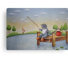 Kettle of Fish Canvas Print