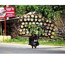 Asian transport Photographic Print