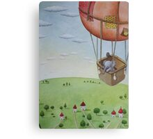Little Traveller Canvas Print