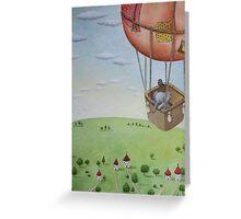 Little Traveller Greeting Card