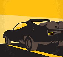 No051 My Mad Max 2 Road Warrior minimal movie poster by JinYong