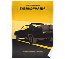 No051 My Mad Max 2 Road Warrior minimal movie poster Poster
