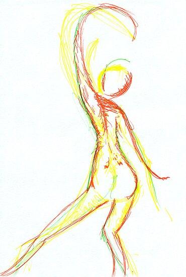 Trinity dancers by caradione
